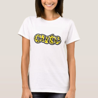 Aureolin Yellow Leopard Animal Print T-Shirt