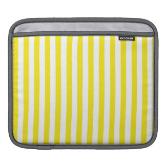 Aureolin Yellow Stripes; Striped Sleeves For iPads
