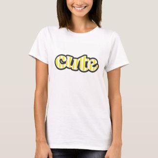 Aureolin Yellow Stripes; Striped T-Shirt