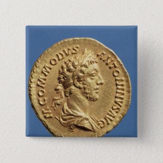 Aureus  bust of Commodus Pinback Button