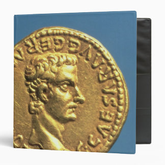 Aureus  of Caligula  bareheaded 3 Ring Binder