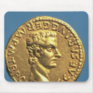 Aureus  of Caligula  bareheaded Mouse Pad