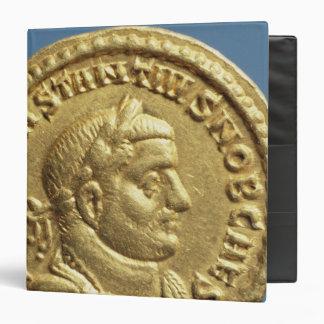 Aureus  of Constantius I  Caesar  Augustus 3 Ring Binders