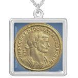 Aureus  of Diocletian  cuirassed Custom Jewelry