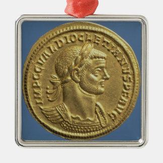 Aureus of Diocletian cuirassed Christmas Tree Ornament