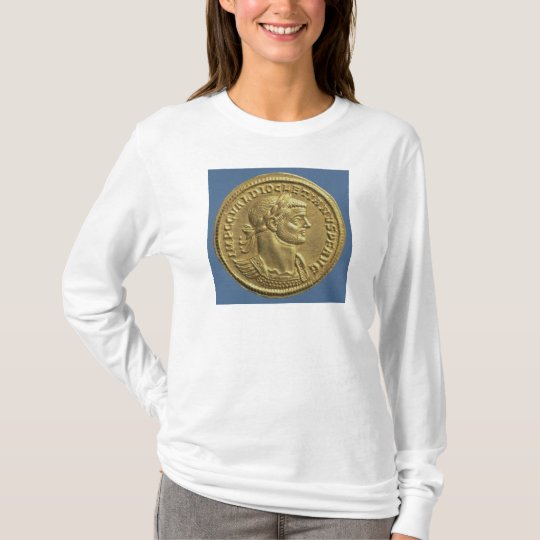Aureus  of Diocletian  cuirassed T-Shirt