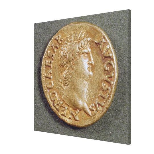Aureus  of Nero Canvas Print