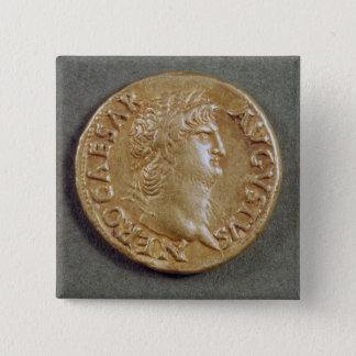 Aureus  of Nero Pinback Button
