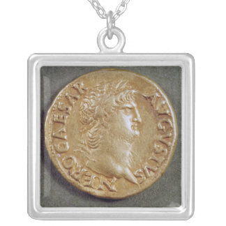 Aureus  of Nero Silver Plated Necklace