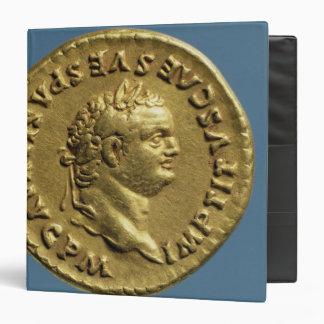 Aureus  of Nero  wearing a laurel wreath Binder