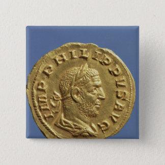 Aureus  of Philip the Arab Button