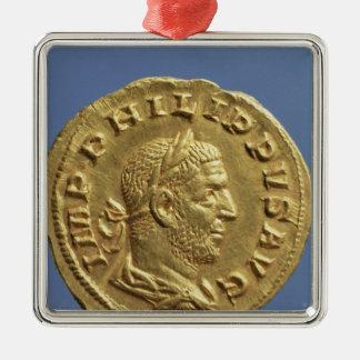 Aureus  of Philip the Arab Metal Ornament