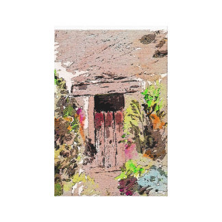 Auribeau, Provence, in the South of France Canvas Print