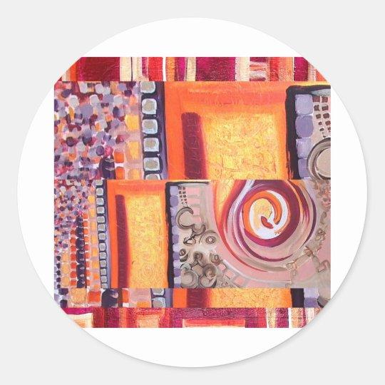Auric Tantra Classic Round Sticker