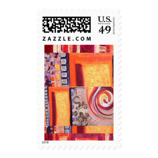 Auric Tantra Postage Stamp