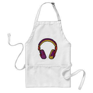 auricular de DJ del color Delantal