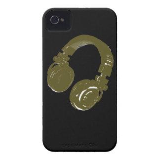 auricular de los discs jockeyes Case-Mate iPhone 4 protectores