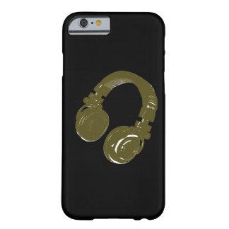 auricular de los discs jockeyes funda para iPhone 6 barely there