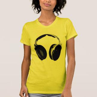 Auricular del arte pop camisetas