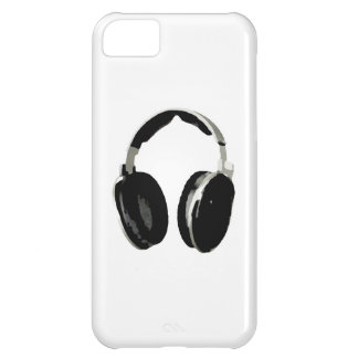 Auricular del arte pop funda para iPhone 5C