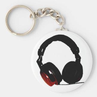 Auricular del arte pop llavero redondo tipo pin