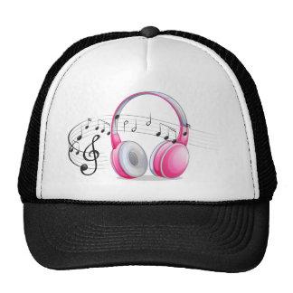 Auricular y notas gorras de camionero