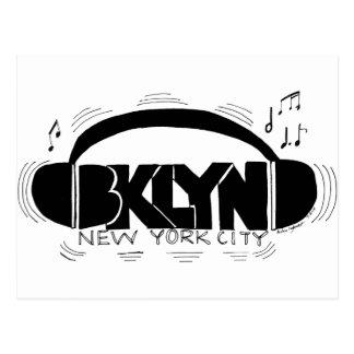 Auriculares de BKLYN DJ Postal