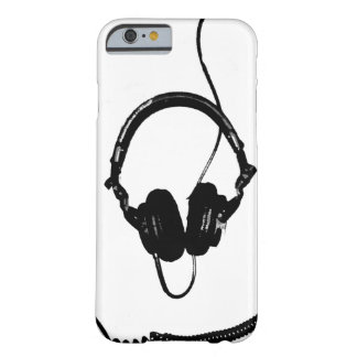 Auriculares de DJ del estilo de la plantilla