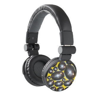 AURICULARES DEL CROMO YELLOW/GOLD