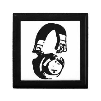 Auriculares - música de la casa - edm de la caja caja de joyas