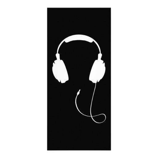 Auriculares Tarjetas Publicitarias Personalizadas