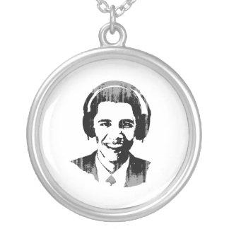 Auriculares Vintage png de Barack Obama Collar Personalizado