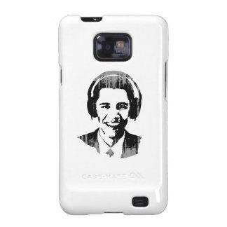 Auriculares Vintage.png de Barack Obama Samsung Galaxy SII Funda