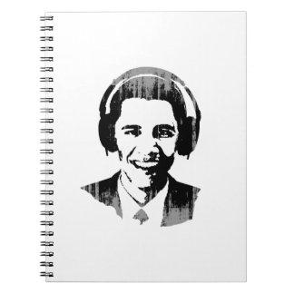 Auriculares Vintage.png de Barack Obama Libretas