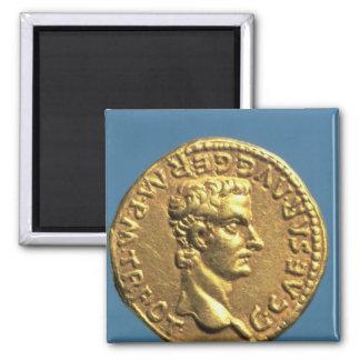 Aurífero de Caligula bareheaded Imán De Nevera