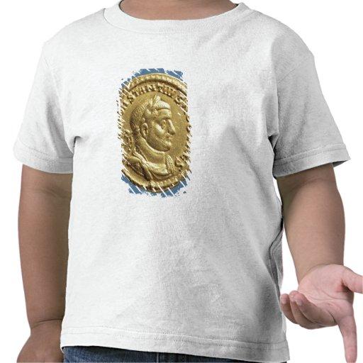 Aurífero de Constantius I César Augustus Camiseta