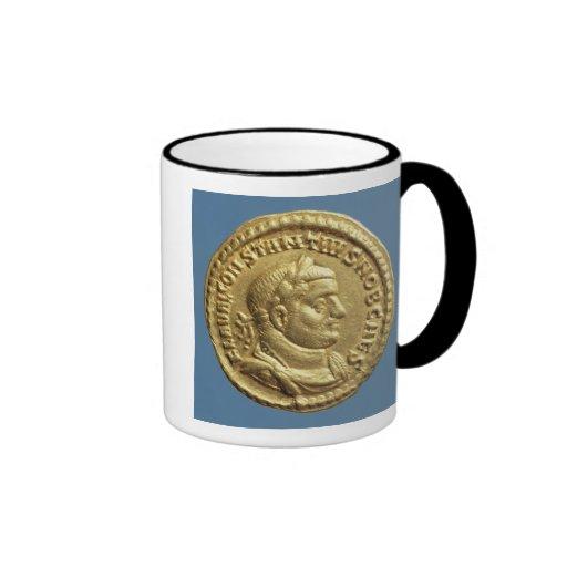 Aurífero de Constantius I César Augustus Tazas De Café