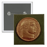 Aurífero de Diocletian que lleva una guirnalda del Pin Cuadrada 5 Cm