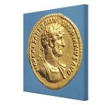 Aurífero de Hadrian Lienzo Envuelto Para Galerias