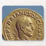 Aurífero de Trajan Decius Mouse Pads