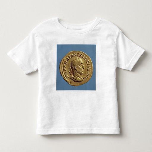 Aurífero de Trajan Decius Playera De Bebé