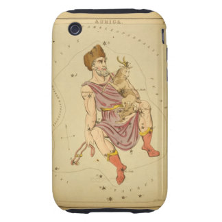 Auriga Charioteer Vintage Astronomical Star Chart iPhone 3 Tough Case