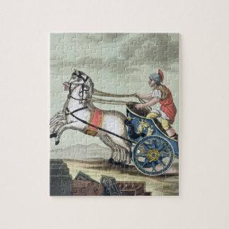 """Auriga, de """"L'Antica Roma"""", 1825 (color encendido Rompecabeza Con Fotos"""
