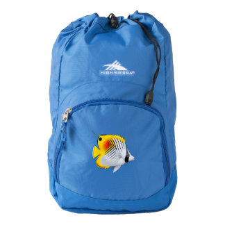 Auriga Threadfin Butterfly Fish Backpack