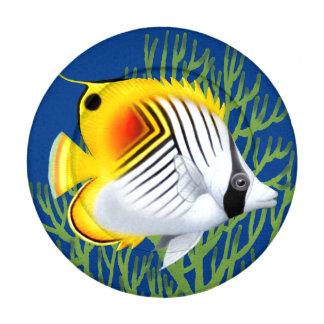 Auriga Threadfin Butterfly Fish Button Covers