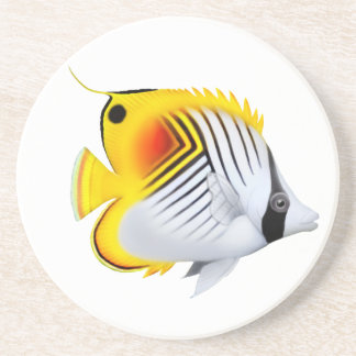 Auriga Threadfin Butterfly Fish Coaster