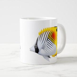 Auriga Threadfin Butterfly Fish Jumbo Mug