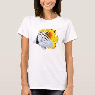 Auriga Threadfin Butterflyfish Babydoll Shirt