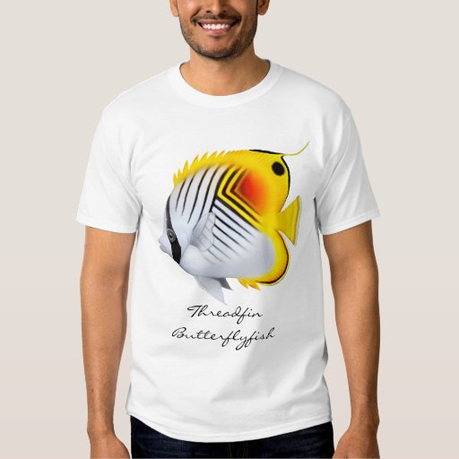 Auriga Threadfin Butterflyfish  T-Shirt
