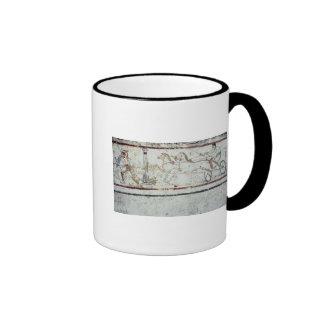 Auriga y gladiador, de la tumba de tazas de café